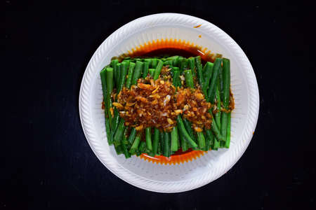 chinese cuisine- long beans