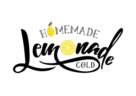 segno di lettere di limonata