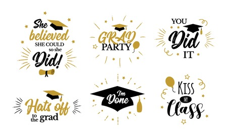 Inspirational grad party quotes to congrat graduates