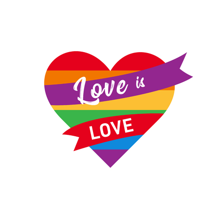 love is love pride LGBT sign