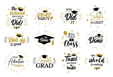 Inspirierende Zitate von Absolventenpartys, um Absolventen zu gratulieren