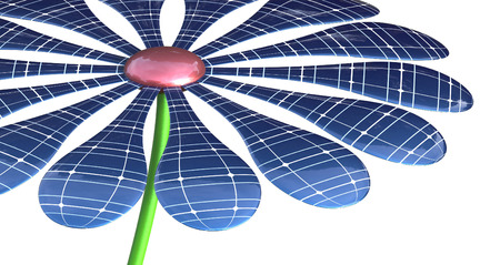 ppt: Render Concept of Clean energy from Solar Power