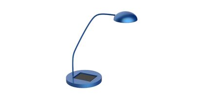 3d render of a Solar Power Desk Lamp isolated on a white background