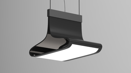 3d render of a Modern Light LED 免版税图像