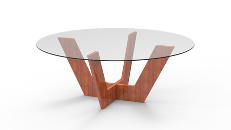 3d render of a Coffee table Stock Photo