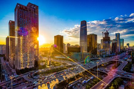 베이징 중심 상업 지구