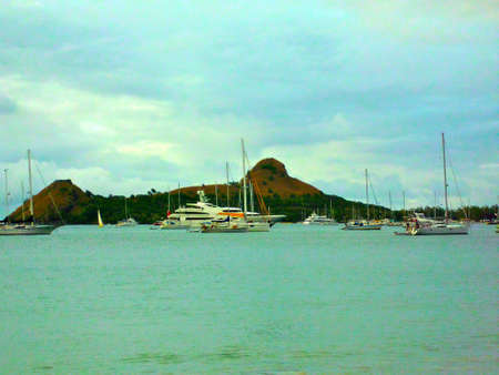 st lucia: St  Lucia Coastline