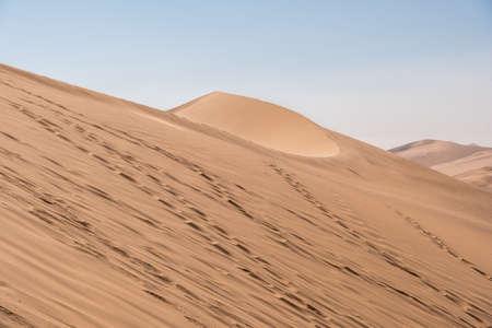 Vibrant Image of Dune 7 and the surrounding sand dunes near Swakopmund, Namibia, Africa