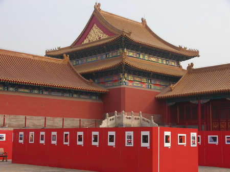 A historic chinese temple in Beijing