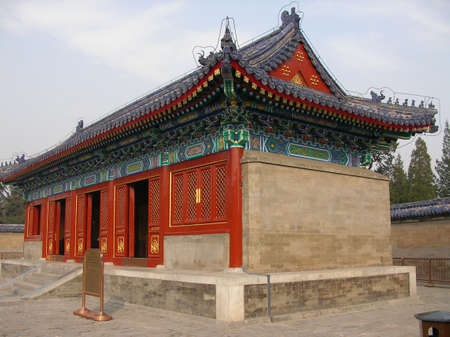 A historic chinese temple in Beijing Stock Photo - 766884