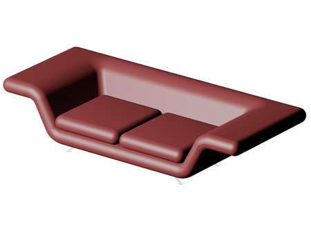 Illustration of a brown sofa Stock Illustration - 766872