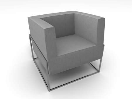 comfortable chair: Illustration of a comfortable chair