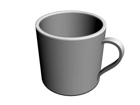 dweeb: Illustration of a coffee cup