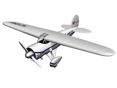 Illustration of a small plane