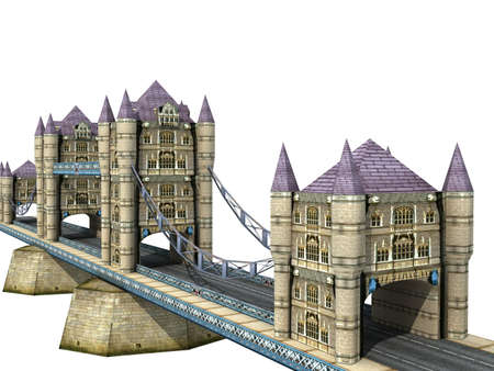 Illustration of the Tower Bridge