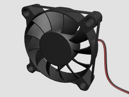 Illustration of a computer fan