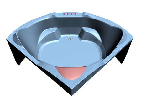 Illustration of a comfortable bath tub Stock Illustration - 767037