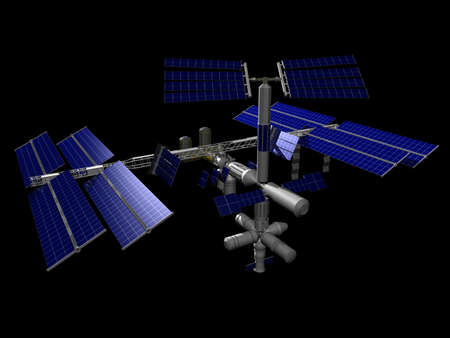 Illustration of the International Space Station