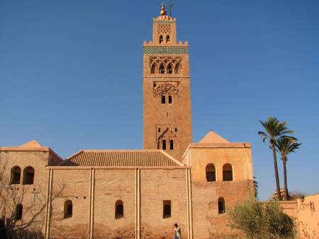 The Koutoubia Mosque in Marrakech  Morocco