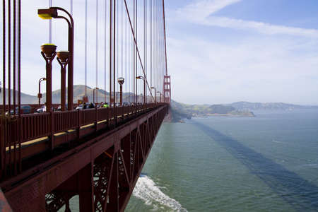 The famous Golden Gate Bridge in San Francisco