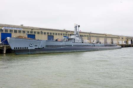 Docked submarine in San Francisco Stock Photo - 1132677