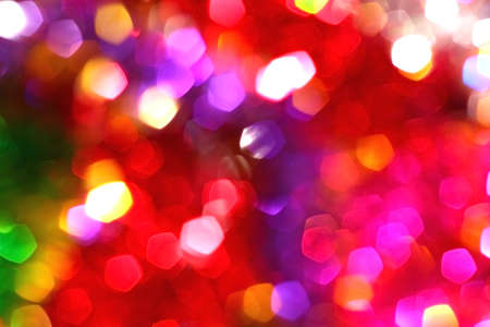 sheen: Colored blur defocused background with bokeh effect. Red tone