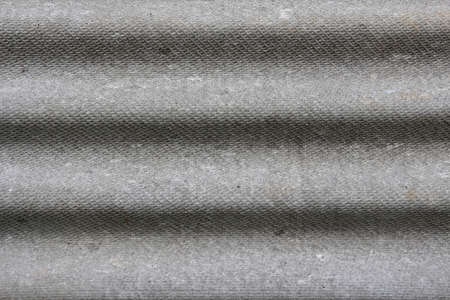fluting: Texture of plywood with horizontal fluting in grey colors