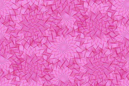 Seamless pattern with pink element of guilloche. Seamless guilloche pattern. Abstract pink background. Guilloche design line art pattern. Vector illustration