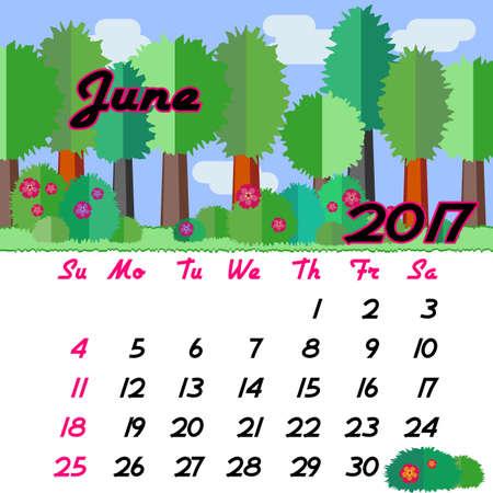 Image result for clip art june 2017