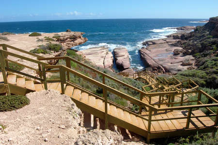 tourist spot: Steps down to coast, tourist spot, South Australia