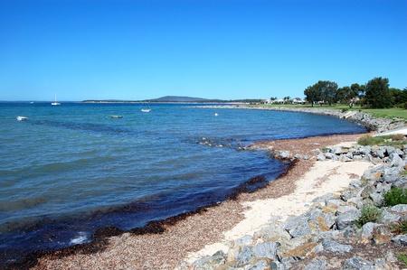 Coastal area in Port Lincoln, South Australia Stock Photo