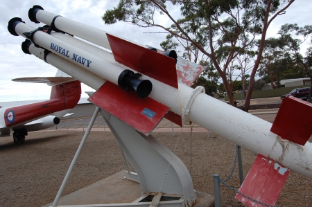 sea slug: Sea Slug was a first generation surface-to-air missile for use by the Royal Navy