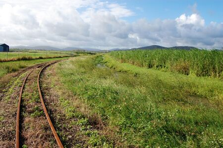 Queensland sugar cane railways, near Mackay, Australia Standard-Bild