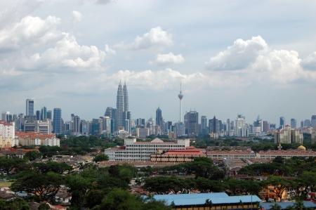 Kuala Lumpur city center scenic view, Malaysia photo