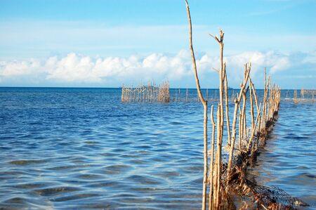 Fishing net, South Pacific, Tonga Stock Photo