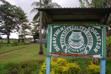 new guinea: Segno scuola elementare, Papua Nuova Guinea