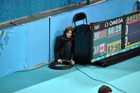olympic games: Volunteer at XXII Winter Olympic Games Sochi 2014, Russia