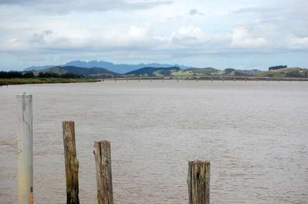 Dargaville river landscape, Northland, North Island, New Zealand