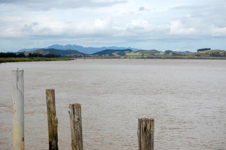 north island: Dargaville river landscape, Northland, North Island, New Zealand
