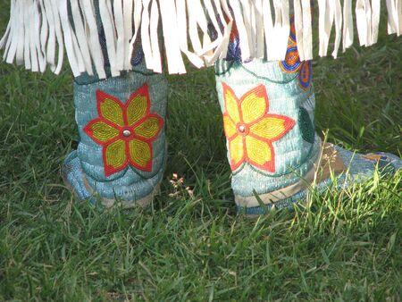 first nations pow wow attire Stock fotó