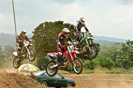 Dirt Bike Race, Costa Rica