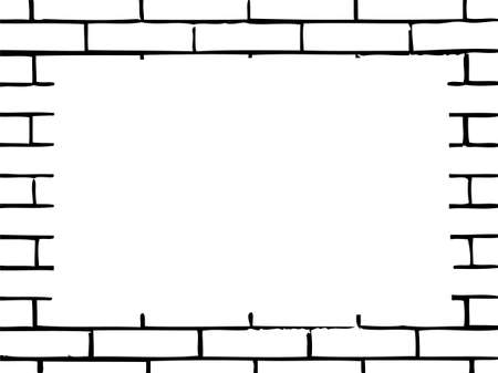 wall with place for text Vector