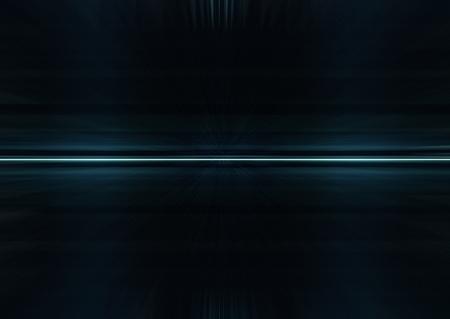 Abstract dark futuristic background in black and blue tones Archivio Fotografico