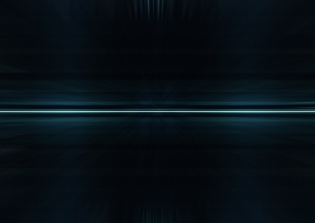 Abstract dark futuristic background in black and blue tones Imagens