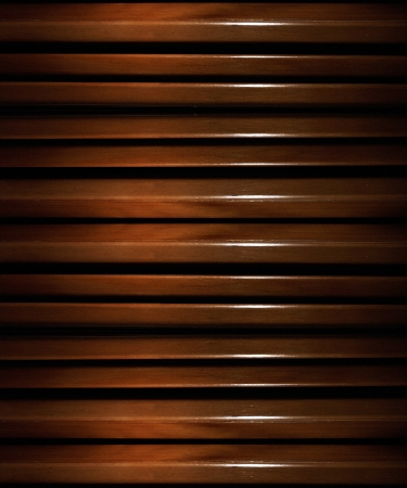 Glazed wood texture pattern in brown colors. photo