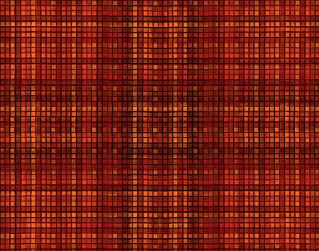 Pixel Grid Backgorund in red colors. photo