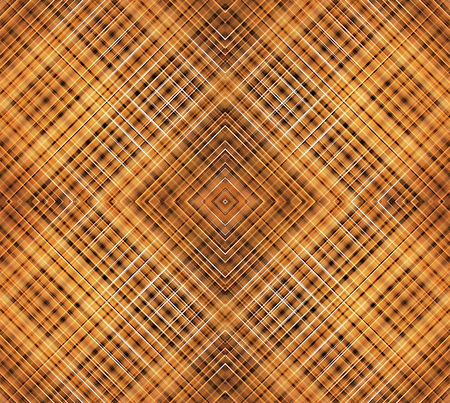 Futuristic geometric abstract glazed wood texture background in brown colors  photo