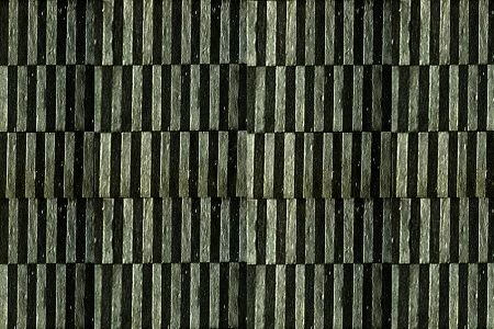 Abstract geometric grunge style pattern background in dark green tones. photo