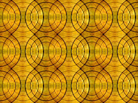 Futuristic stlye abstract background also useful as pattern in hot orange and green tones. photo