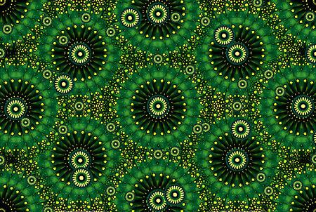 textura: Complesso photo ornamentali manipolato collage digitale disegno artistico nei toni del verde. Archivio Fotografico